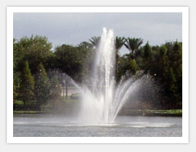 2 Tier Floating Lake Fountains
