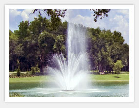 3 Tier Floating Lake Water Fountains