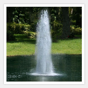 Lake Water Fountains Cascade Floating Lake Fountains
